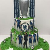 Chelsea FC Premier League Cake