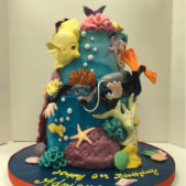 Childrens Birthday Cakes – Happy Birthday Adrien
