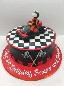 Childrens Birthday Cakes - Happy Birthday Fraser and Freddie
