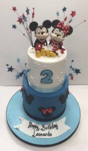 Childrens Birthday Cakes - Happy Birthday Leonardo