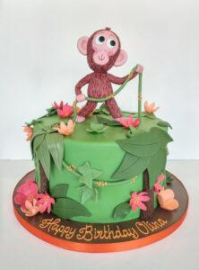 Childrens Birthday Cakes - Happy Birthday Olina
