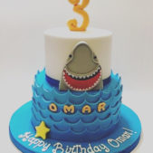 Childrens Birthday Cakes – Happy Birthday Omar
