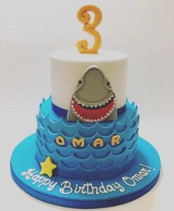 Childrens Birthday Cakes - Happy Birthday Omar