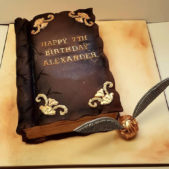 Childrens Birthday Cakes Harry Potter Themed Cake Alexander
