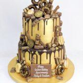 Chocolate Cake Wedding Anniversary