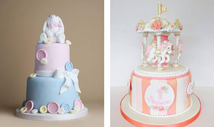 Christening Cakes Image