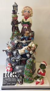 Christmas at the Movies cake