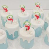 Christmas Cakes – Snowmen Cakes