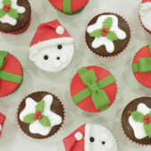 Christmas Cupcakes – Polar bear