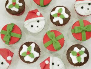Christmas Cupcakes - Polar bear
