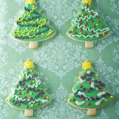 Christmas tree biscuits £4.50 each