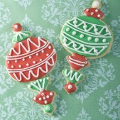 Christmas tree decoration cookies £4.50 each