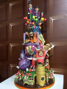Willy wonka birthday cake
