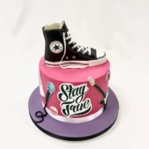 Converse all star themed cake
