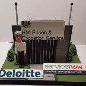Corporate Cakes -HM Prison & Probation Service Cake