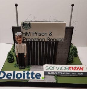 Corporate Cakes -HM Prison & Probation Service Cake