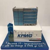Corporate Cakes – KPMG Cake