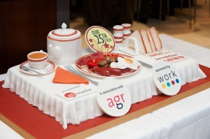 All Day Breakfast Corporate Cakes