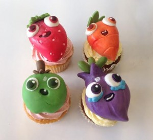 Corporate cupcakes branded cupcakes