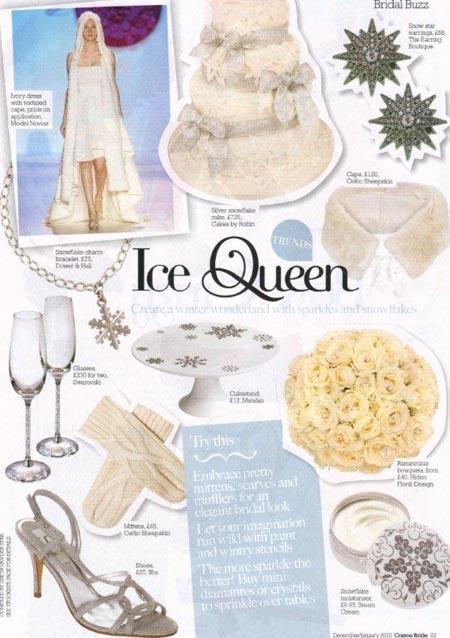 Cosmo Bride magazine Dec - Jan 2010