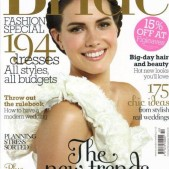 Cosmo Bride magazine Oct-Nov 2009