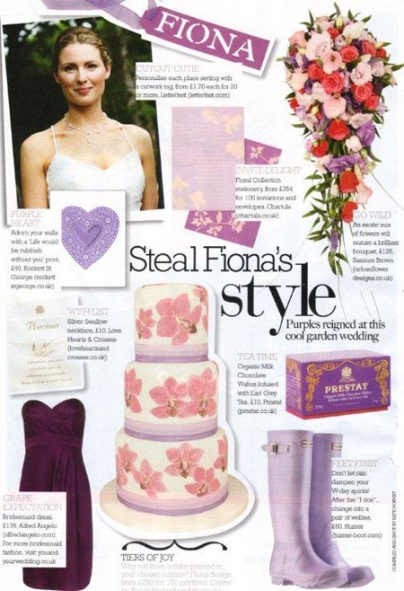 Cosmo Bride magazine Oct-Nov 2009