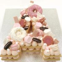 Cream Tart Cake Image 1