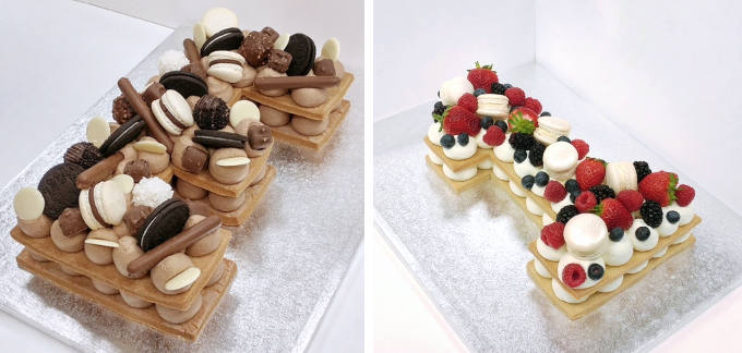 Cream Tart Cake Image 2