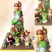 Croods 2 cake