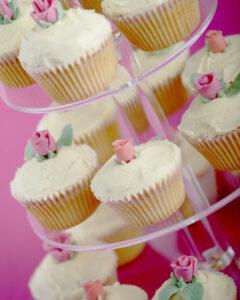 sugar rose cupcakes