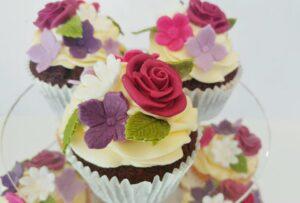 Sugar Rose Cupcake