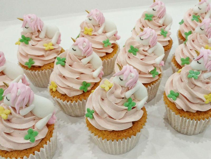 Cupcakes Birthday Unicorn Cakes
