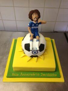 David Luiz Chelsea birthday cake