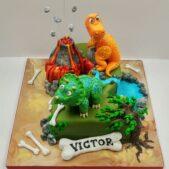 dinasor-cake