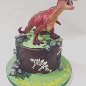 Dinosaur Birthday Cake FB Image October