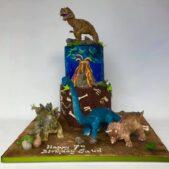 Dinosaur Cake Whole