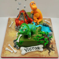 Dinosaur Cakes - Birthday Cake for Victor