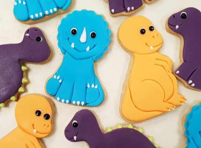 Dinosaur Cookies image