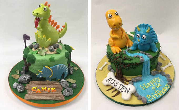 Wondrous Roar Some Dinosaur Cakes For Dino Obsessed Little Ones Cakes By Funny Birthday Cards Online Inifodamsfinfo