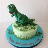 Dinosaur sugar model