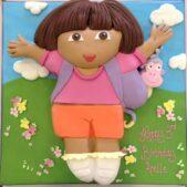 Dora the Explorer 2D cake