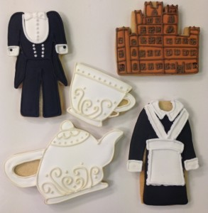 Downton Abbey cookies