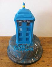 Dr Who Tardis cake Tardis birthday cake