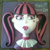 Draculaura birthday cake