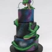 Dragon Novelty Wedding Cake