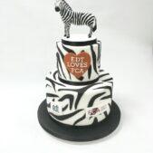 EDT and FCA corporate cake – Zebra