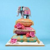 Elephant Wedding Cake Image