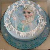 Elsa transfer cake