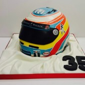 Fernando Alonso birthday cake