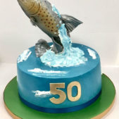 Fish Cake 50th Birthday